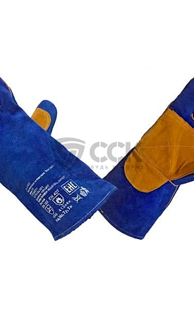 КРАГИ СПИЛКОВЫЕ BLUE WELDER KEVLAR BLUE WELDER KEVLAR
